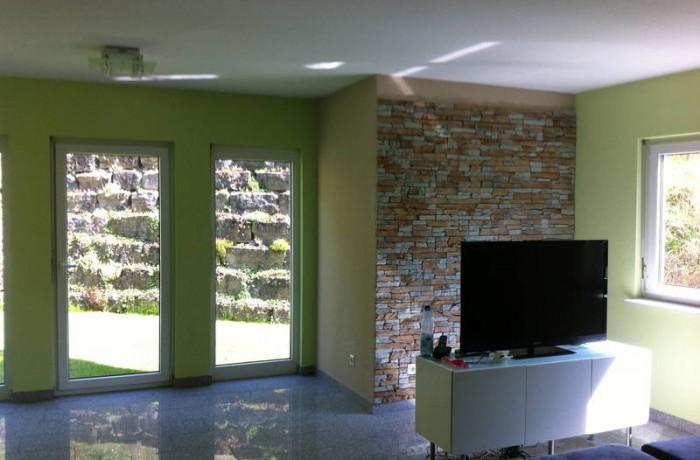 Neugestaltung eines Wohnzimmers