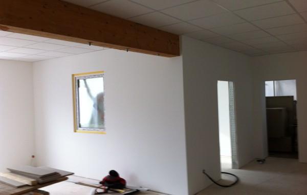 Umbau alte Werkstatt zu Büroflächen