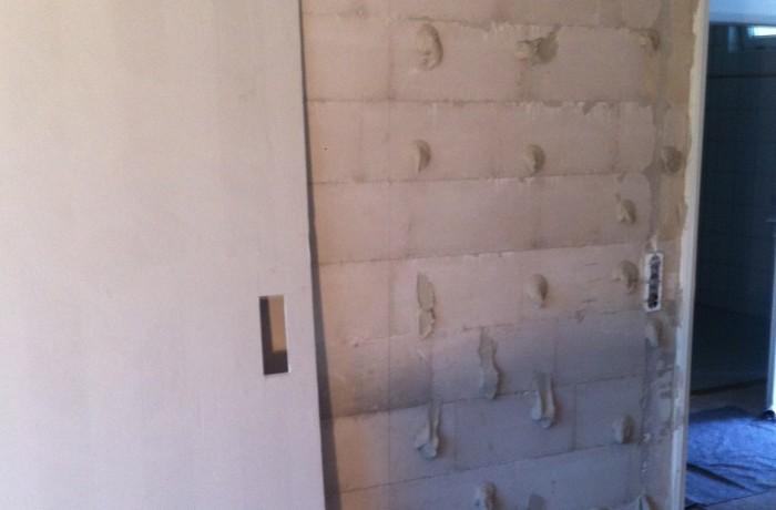 Verklebung von Gipskartonplatten